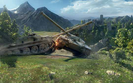 таран в World of Tanks